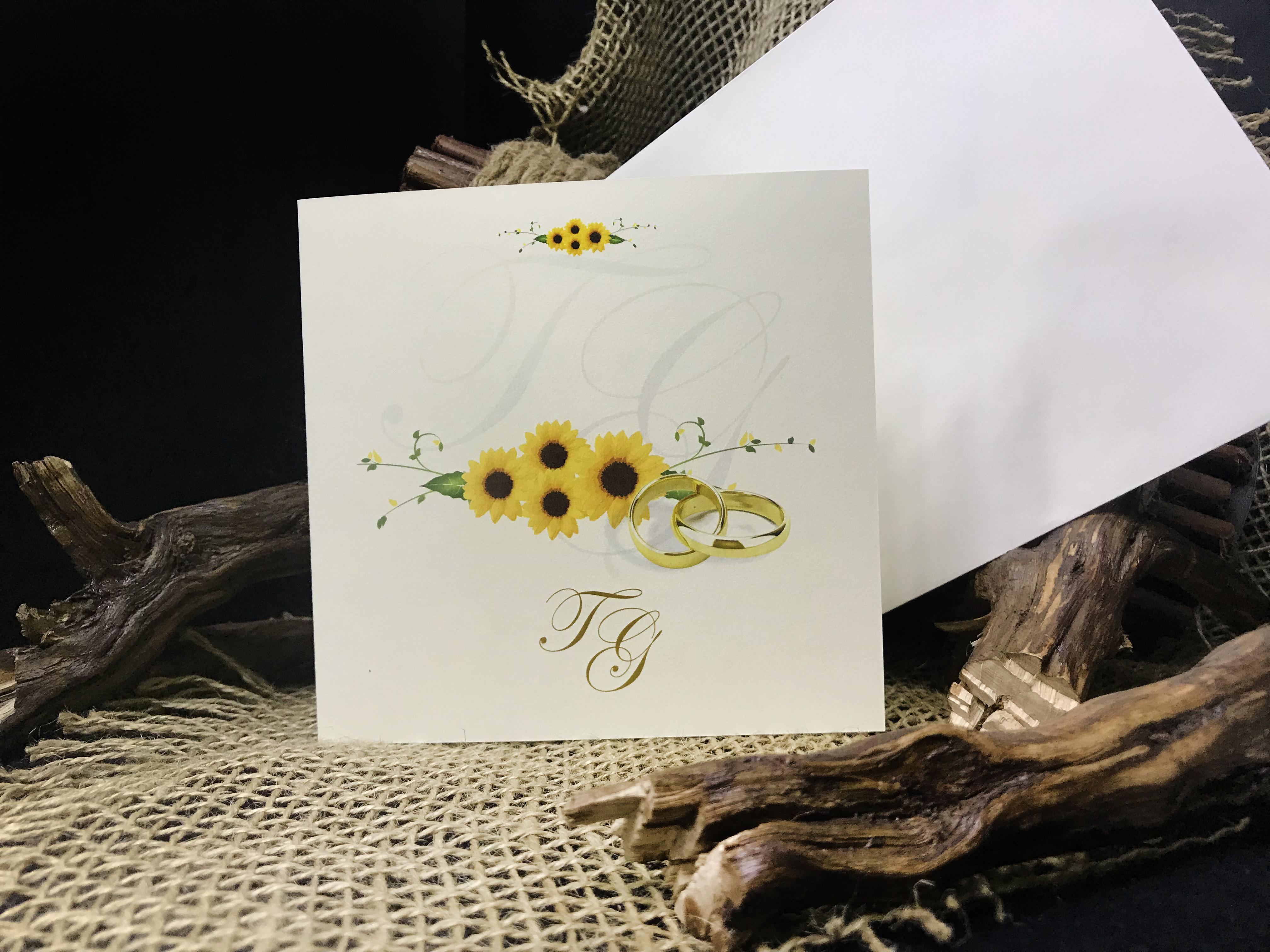 Partecipazioni Matrimonio Girasoli.I Girasoli Lagigroup Tipografia E Stampa Digitale Online